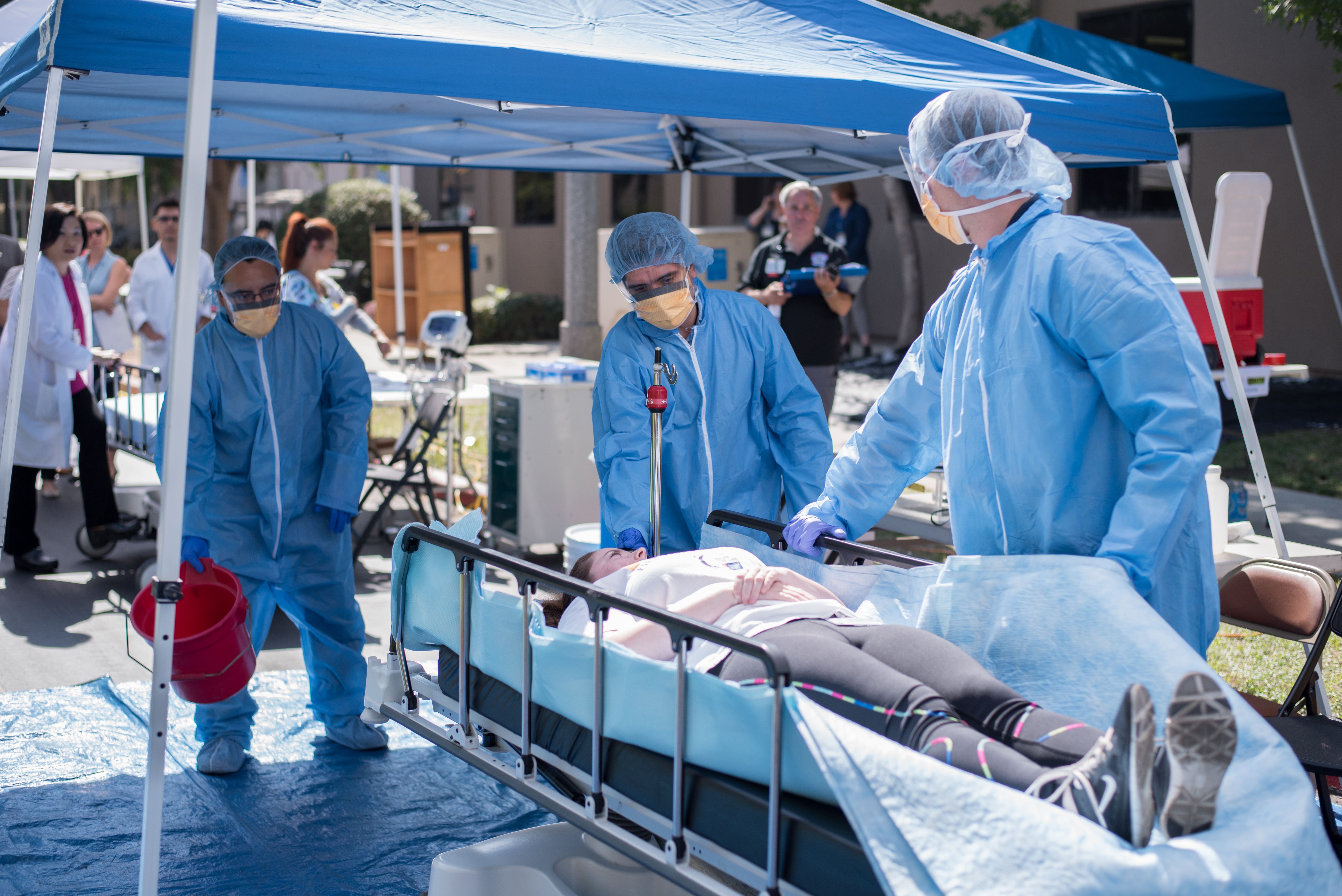 City of Hope National Medical Center Exercise