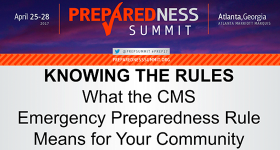 CMS Emergency Preparedness Rule: NEXT STEPS