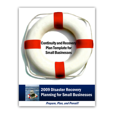 Continuity Planning for Small Businesses Template