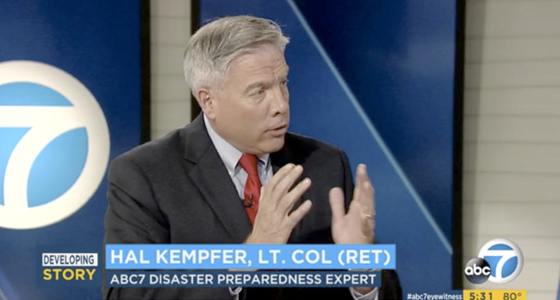 CONSTANT partner, Hal Kempfer, speaks on Hurricane Harvey Emergency Reponse for ABC7 Eyewitness News