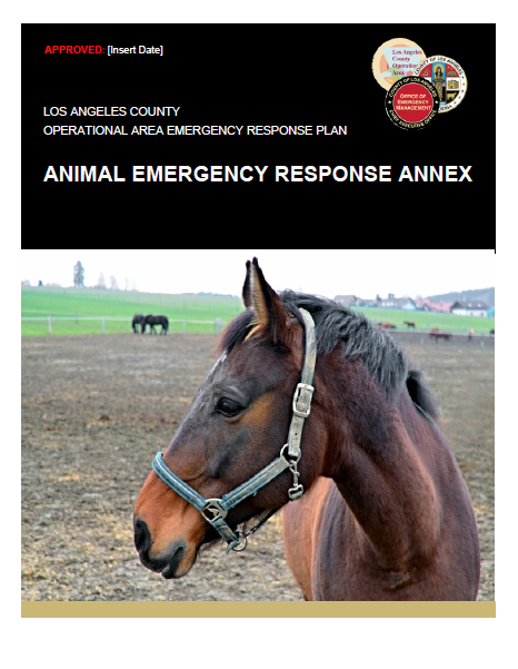 Animal Emergency Response Annex