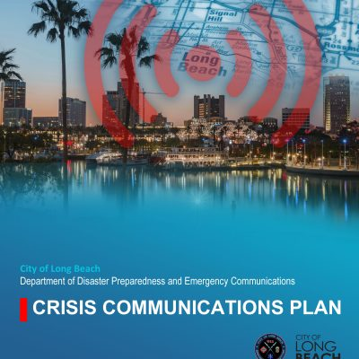 CONSTANT leads the development of the Long Beach Crisis Communications Plan