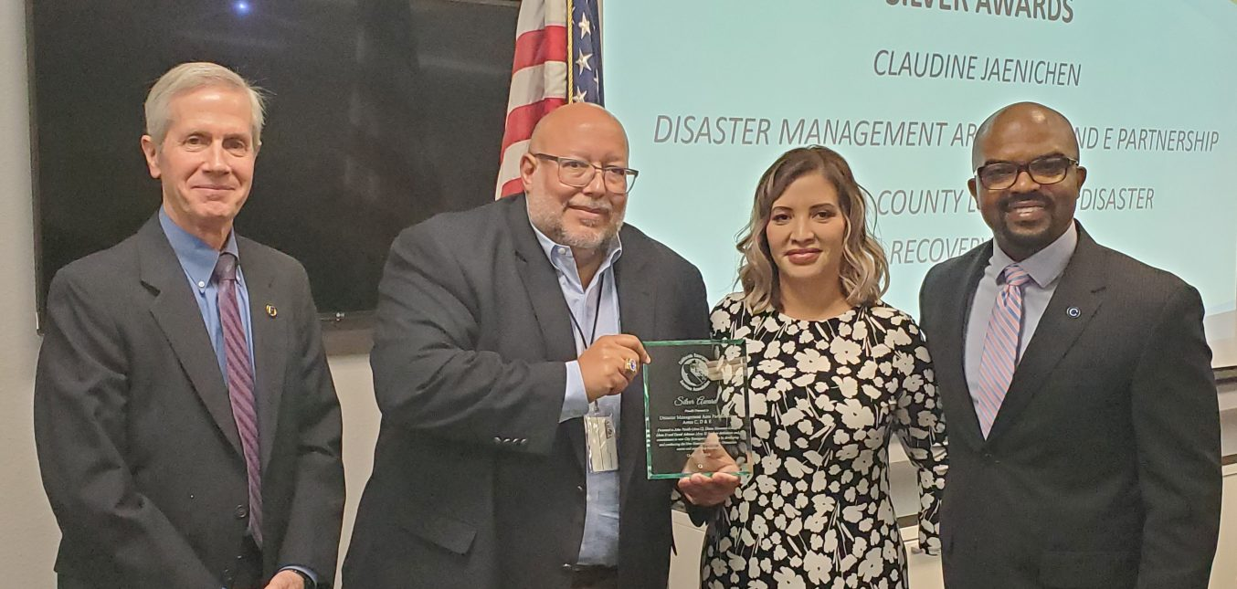 CONSTANT & Disaster Management Area Partnership collaboration wins CESA Award 2019