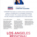 CONSTANT Featured in 2020 Annual SBDC Report