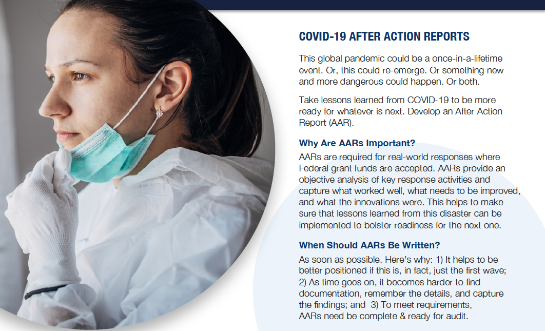 COVID-19 After-Action Reports